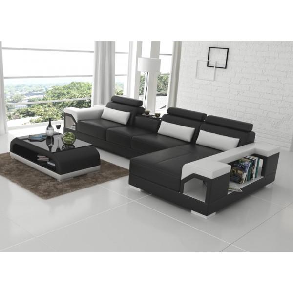 Canapé lit cuir design