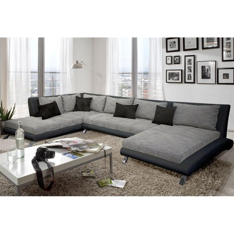 Canapé d'angle quartz