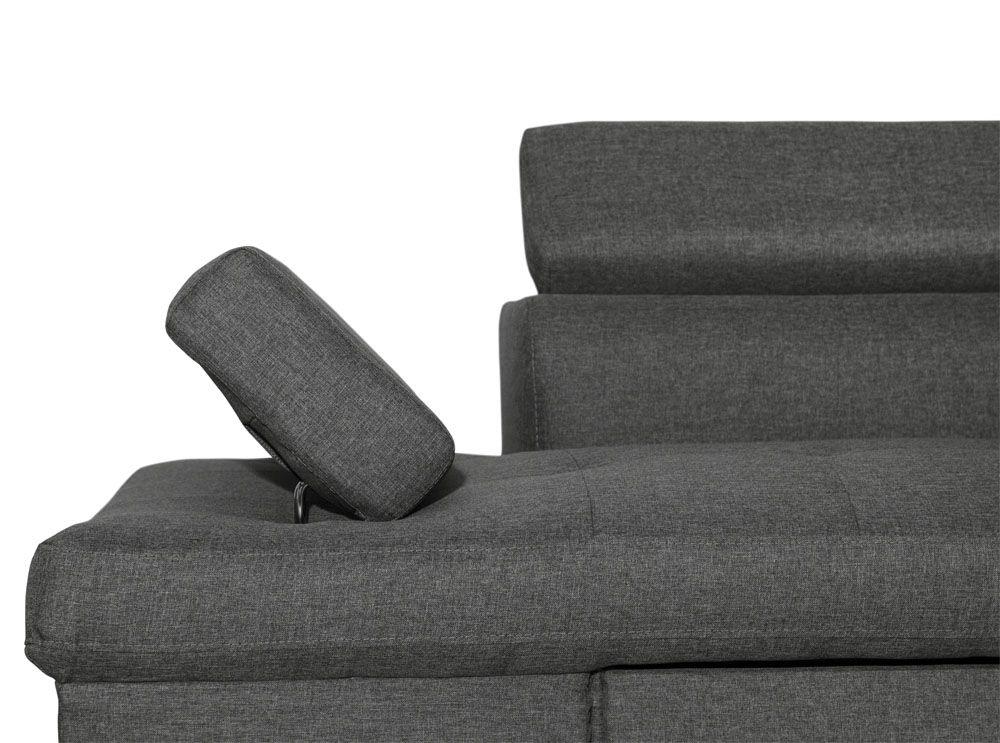 Canapé d'angle avec tetiere pas cher