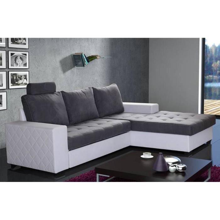 Canapé panoramique alcantara