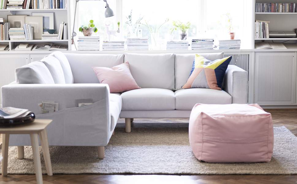 Canapé d'angle panoramique ikea