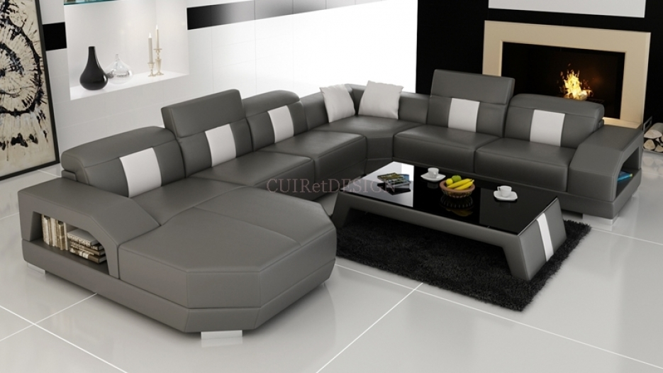 Table basse pour canapé d'angle