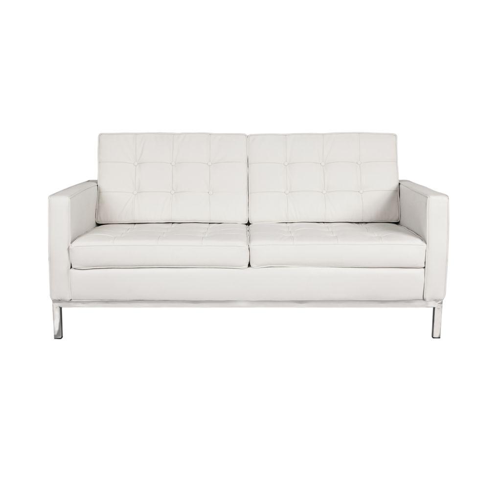 Canapé 2 places cuir pas cher