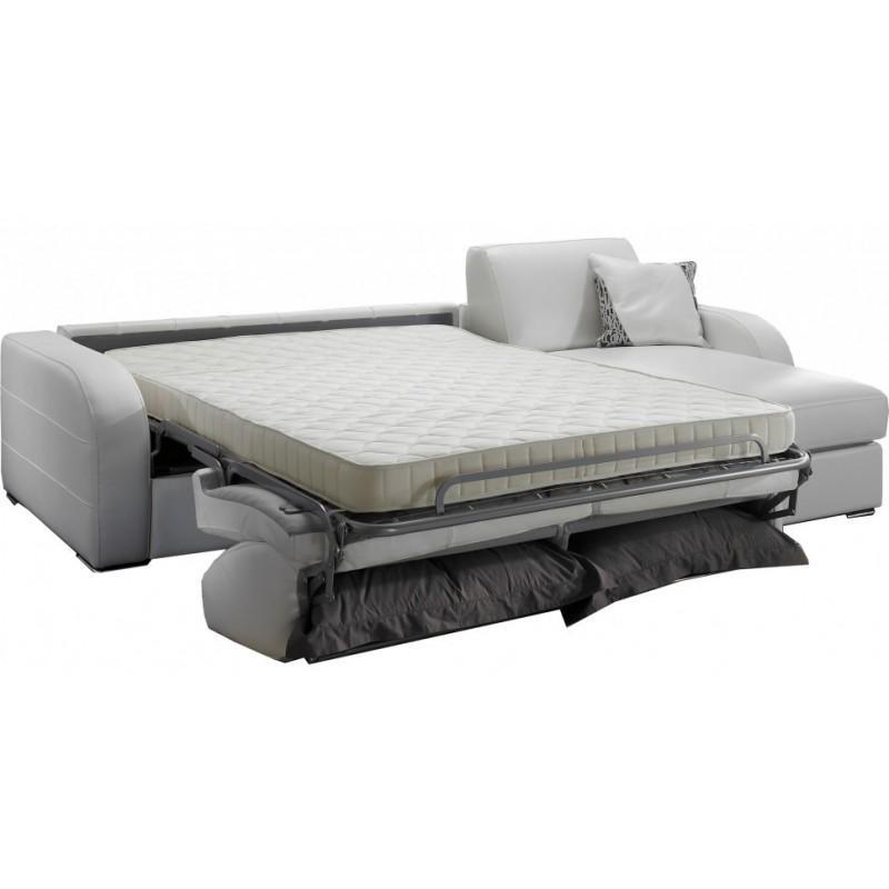 Canapé d'angle lit quotidien