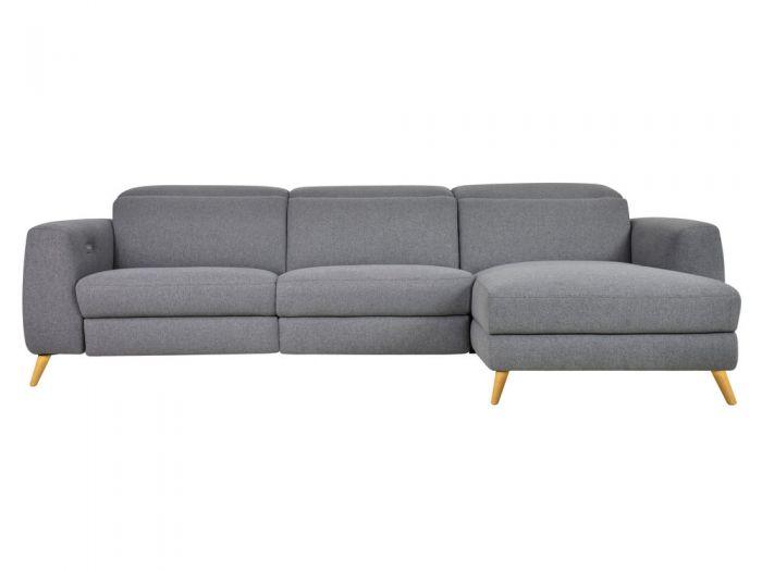 Canapé 4 places droit