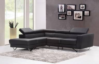 Petit salon canapé d'angle
