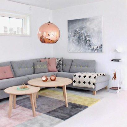 Aménager un petit salon avec un canapé d'angle