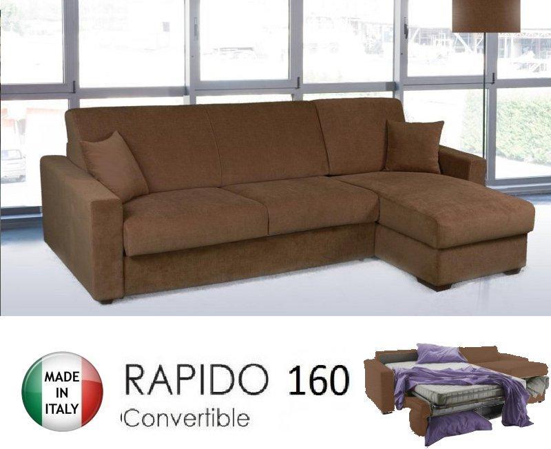Canapé d angle convertible couchage quotidien