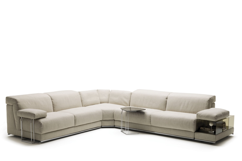 Canape d'angle avec accoudoir