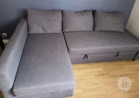 Don de canapé d'angle gratuit