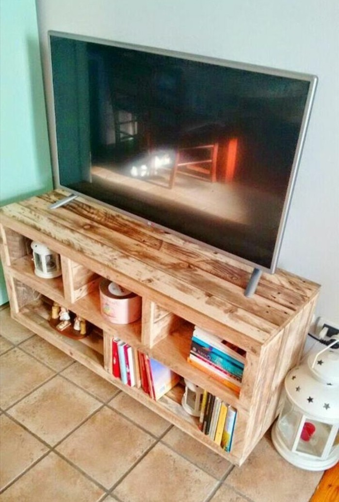 Fabriquer un meuble tv en bois