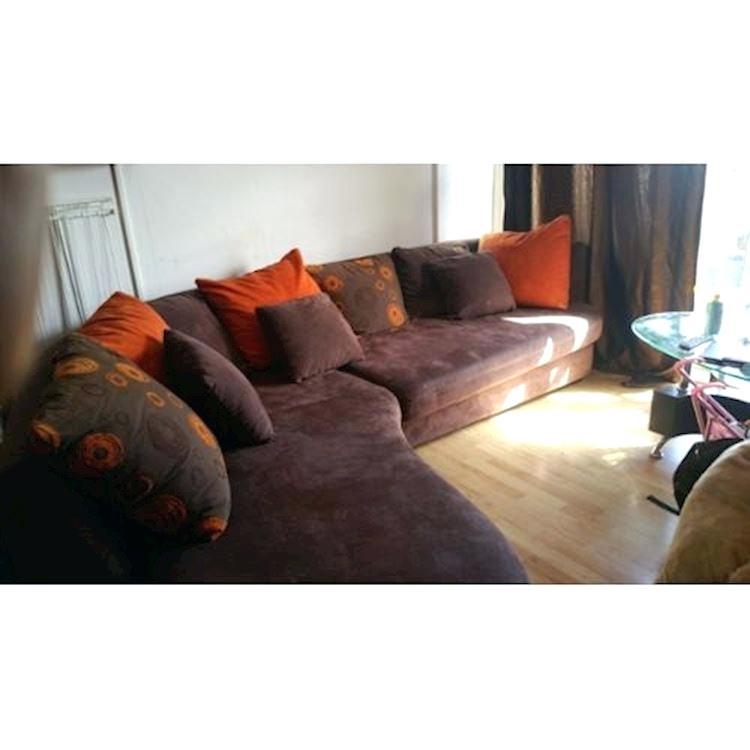 Canapé d'angle folk conforama
