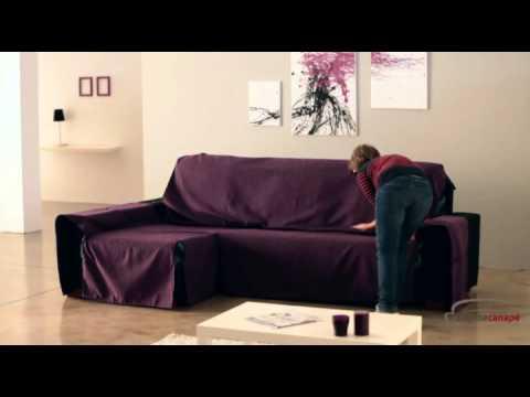Coudre une housse de canapé d'angle