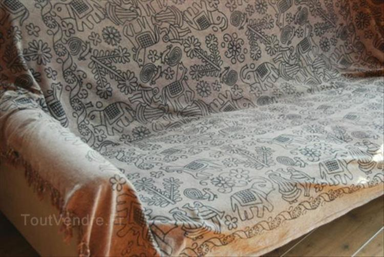 Canapé lit indien