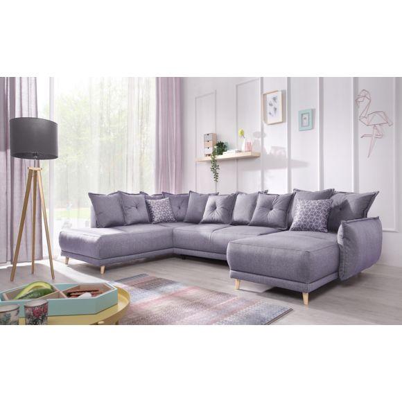 Canapé panoramique gris