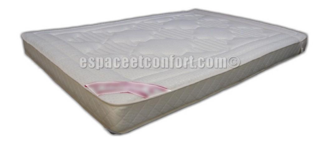 Surmatelas memoire de forme pour canape lit