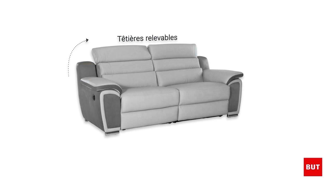 Canapé d'angle relax electrique but