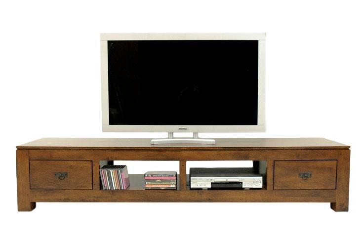 Meuble tv long bas