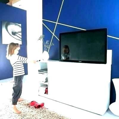 Meuble tv escamotable design