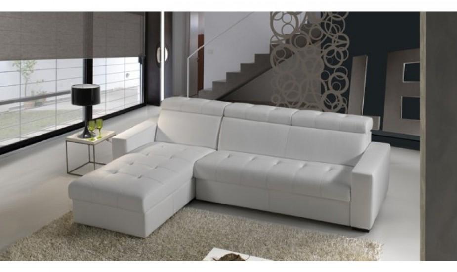 Canape d'angle longueur 200 cm