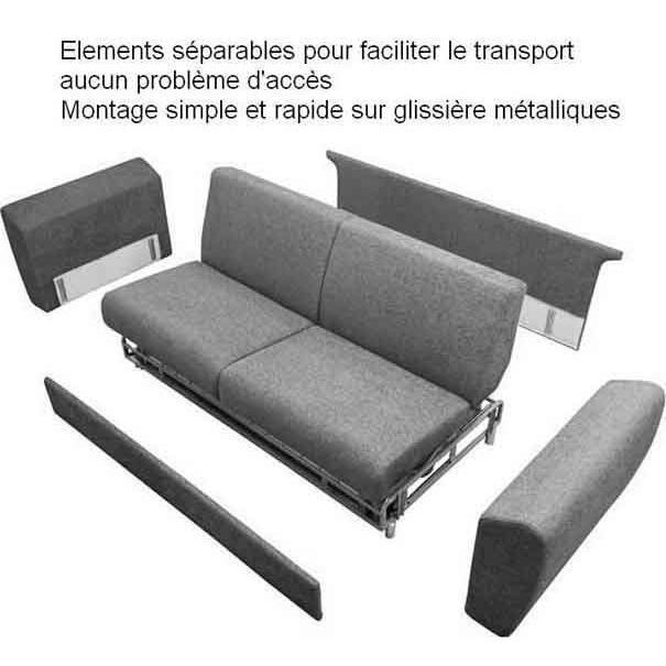 Monter un canapé d'angle