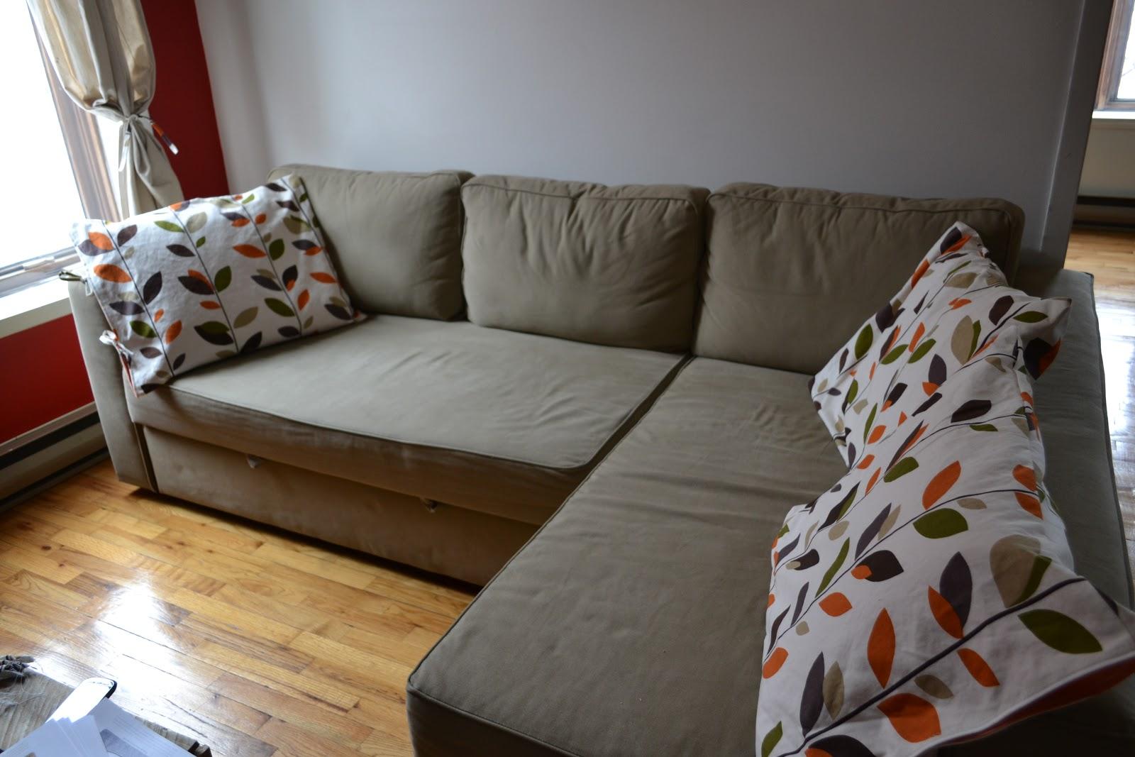 Fabriquer housse canapé d'angle