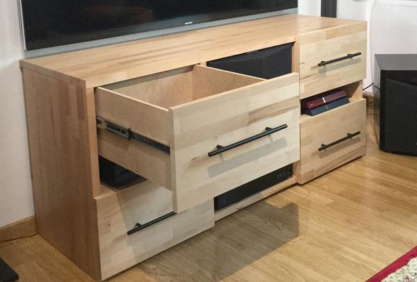 Fabriquer un meuble tv en mdf