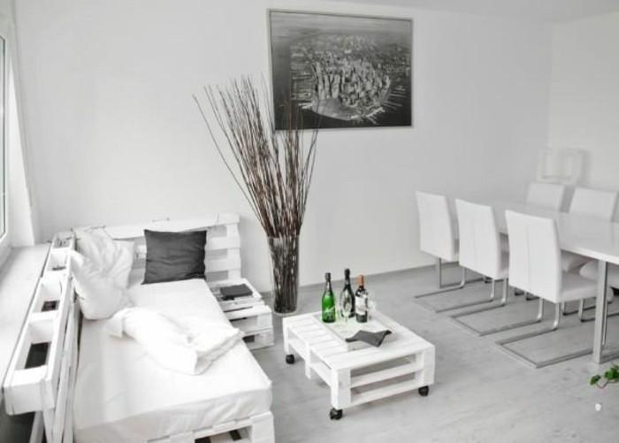 Canape palette interieur