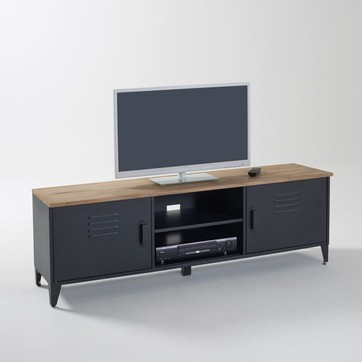 Meuble tv scandinave metallique