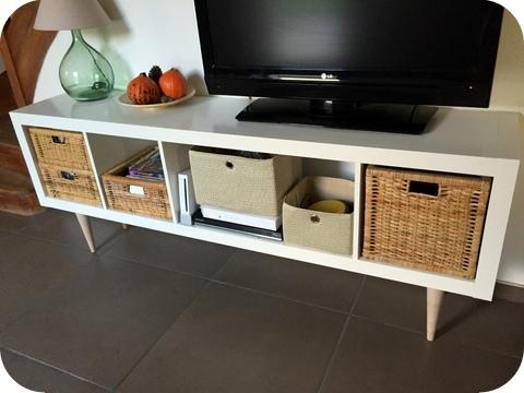 Personnaliser meuble tv ikea