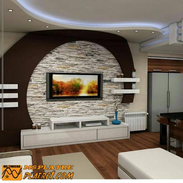Meuble tv placo salon