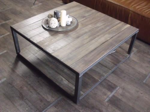 Meuble tv et table basse style industriel