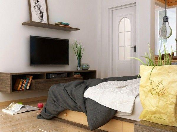 Meuble tv de chambre