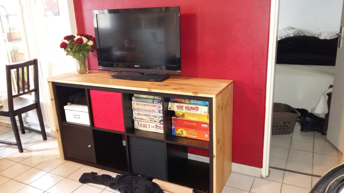 Meuble tv expedit ikea