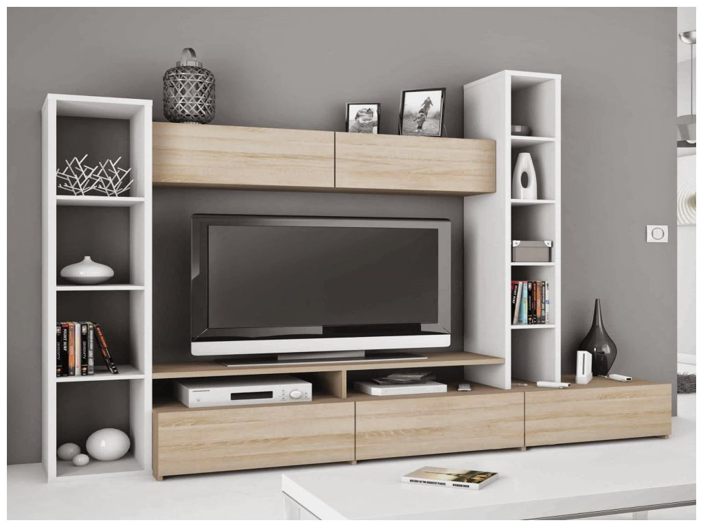 Meuble tv avec une colonne