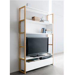 Meuble tv etagere bibliotheque