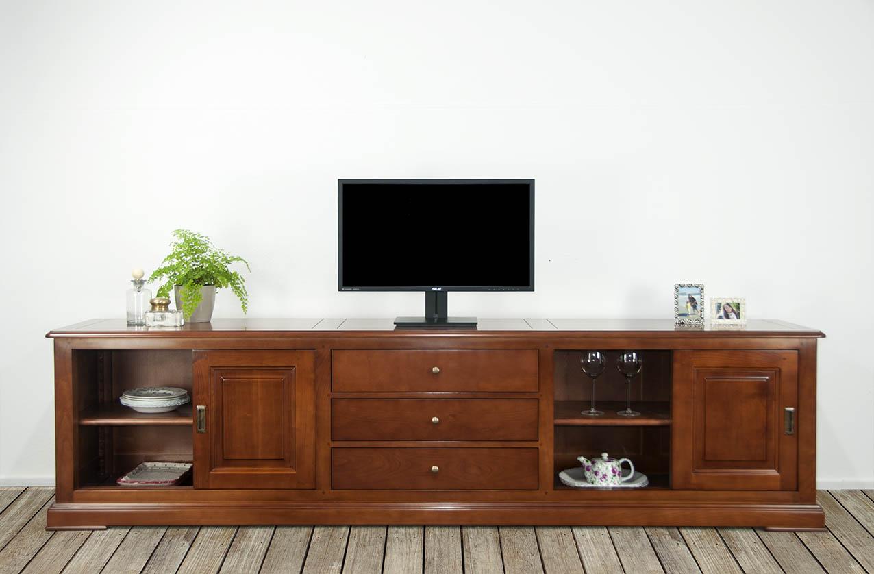 Meuble tv fermant a clef