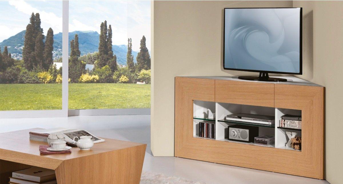 Mobilier de france meuble tv angle