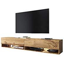 Meuble tv rustique gris