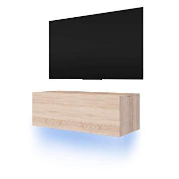 Tv suspendu meuble
