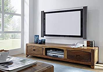 Meuble tv bois massif palissandre