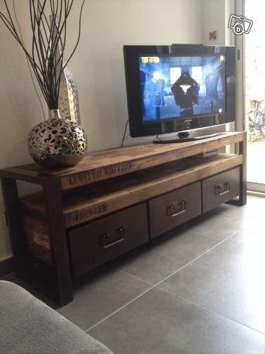 Meuble tv screen noir
