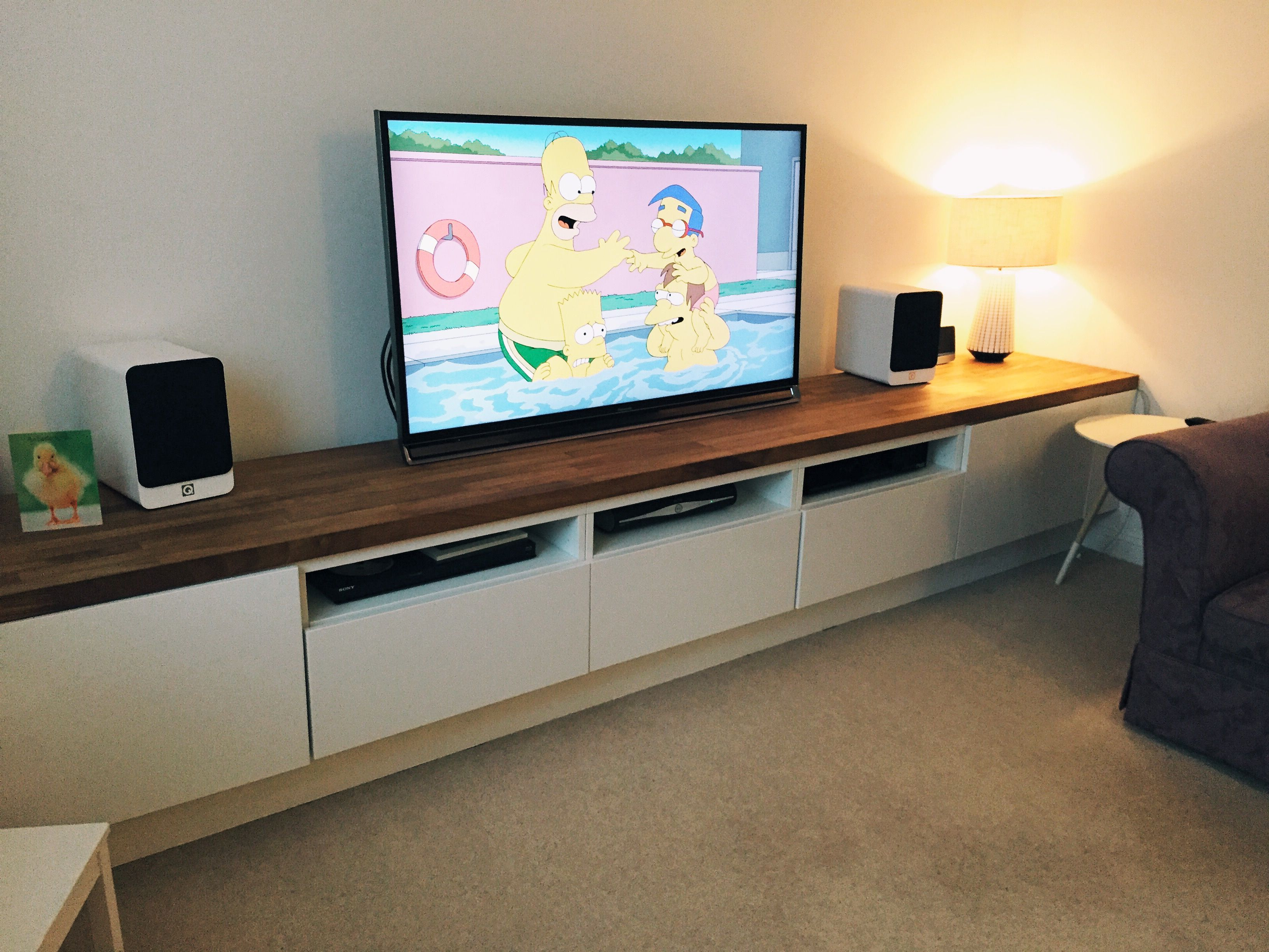 Ikea hacker meuble tv