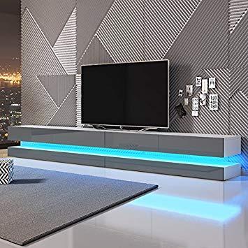 Amazon meuble tv suspendu