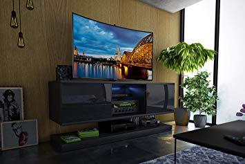 Meuble tv moderne amazon