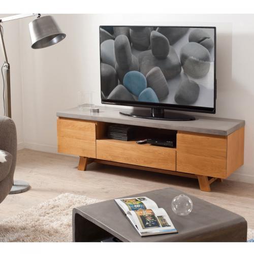 Meuble tv blanc laqué 3 suisses