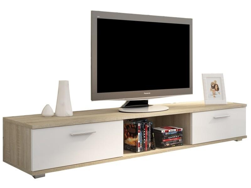 Meuble tv design mat