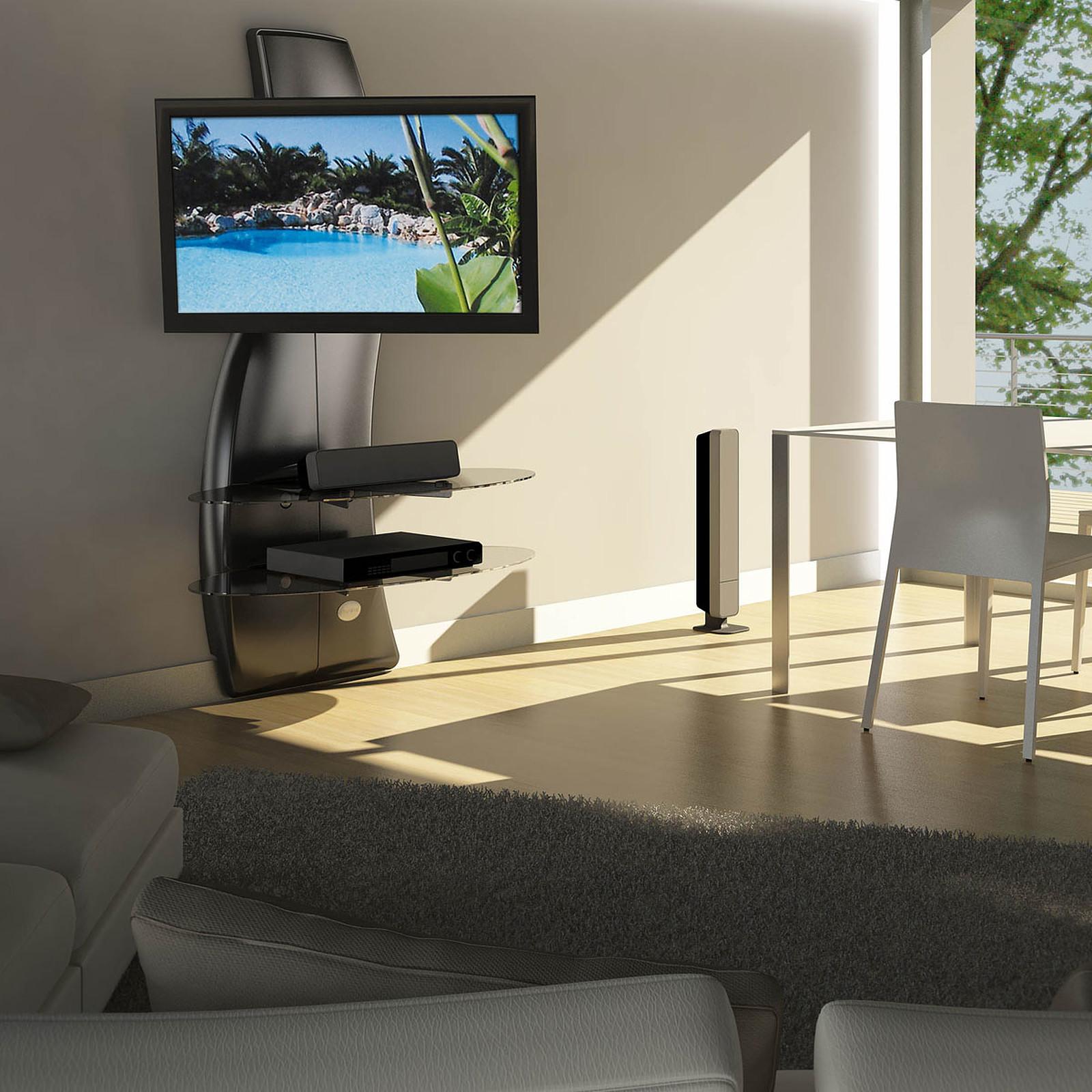 Meuble tv carbone