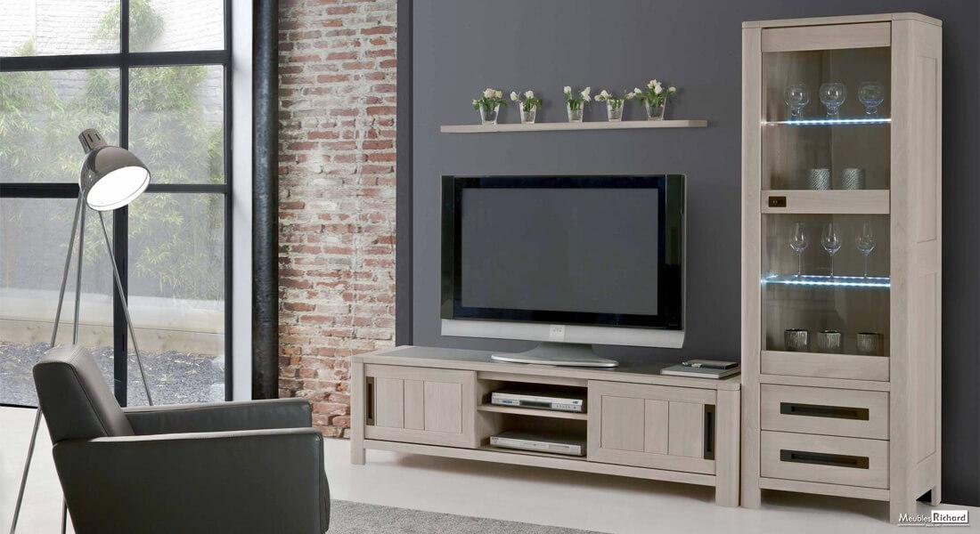Meuble tv style industriel moderne