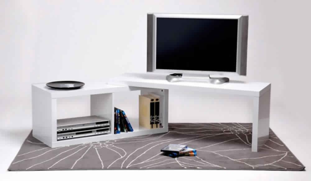 Petit meuble tv d'angle